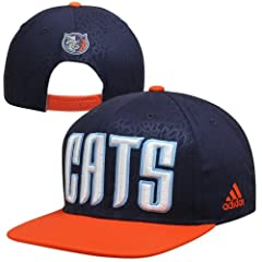 Buy adidas Charlotte Bobcats Crazy Light Adjustable Snapback Hat - Navy Blue by adidas