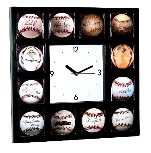 Philadelphia Phillies Signed Baseball Clock at Amazon.com