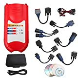 Bluetooth Version Nexiq Vxtrucks V8 USB Link + Software Diesel Truck Diagnose Interface and Software with All Installers