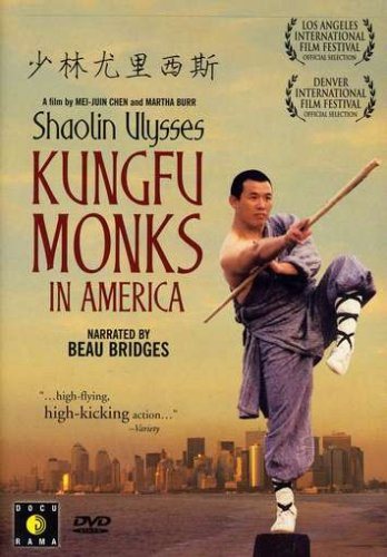 Cover art for  Shaolin Ulysses: Kungfu Monks in America