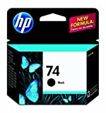 HP 74 Black Ink Cartridge in Retail Packaging (CB335WN#140)