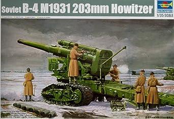 Trumpeter 1/35 Soviet Army B4 M1931 203mm Howitzer Model Kit