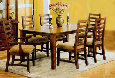 Birch Veneer Dining Set