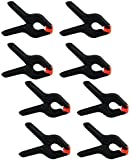 CanadianStudio Studio Light Stand Large 8 pcs 4 inch backdrop paper muslin clamps-FREE shipping on orders over $100-30053
