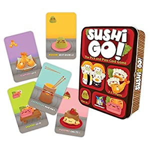 Sushi Go! - The Pick and Pass Card Game from Gamewright
