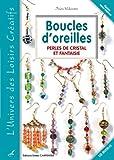 echange, troc Inès Valentin - Boucles d'oreilles : Perles de cristal et fantaisie