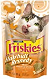 Friskies Cat Treats Tender Hairball Remedy with Chicken, 3-Ounce Pouches (Pack of 10)