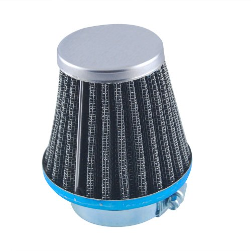Excellent Universal Fit Custom Motorcycle Cruiser Pod Power Performance Air Filter Intake Induction Kit With 39mm Inlet Rubber Connector