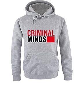 Comedy Shirts - CRIMINAL MINDS - Men Hoodie - size S-XXL various colours