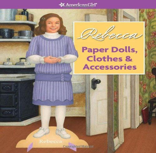 Rebecca Play Scenes &amp; Paper Dolls (American Girl)