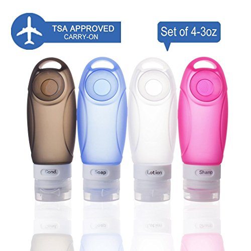 tsa-approved-travel-bottle-set-3-oz-4-pack-leak-proof-refillable-squeezable-silicone-travel-bottles-