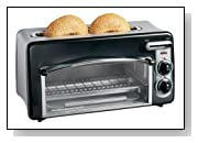 Hamilton Beach 22708 Toastation 2-Slice Toaster and Mini Oven
