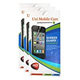 UNI MOBILE CARE 3 Clear Screen Protector Scratch Guard For Samsung Galaxy Trend GT-S7392