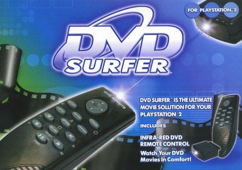 DVD Server Remote mit Empfänger