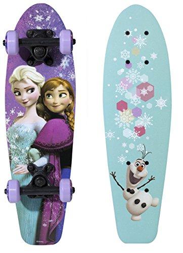 PlayWheels-Disney-Frozen-21-Wood-Cruiser-Skateboard-Sisters-Graphic