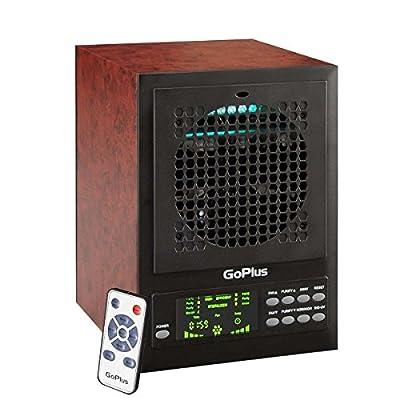 HEPA Smoke Remover Air Purifier UV-C Remote Ozone Generator Ionizer Ozonator