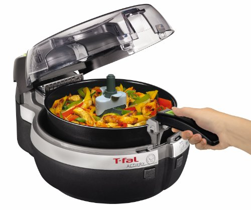 [ティファール]T-fal 電気調理器 Actifry Low-Fat Multi-Cooker FZ7000002 マルチクッカー キッチン 【並行輸入品】 (ブラック)