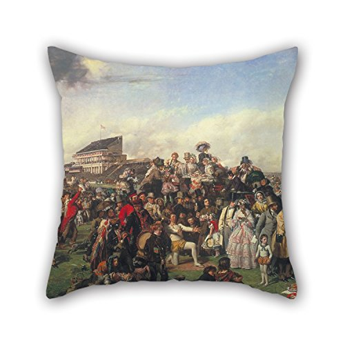 oil-painting-william-powell-frith-the-derby-day-cushion-covers-18-x-18-inch-45-by-45-cm-gift-or-deco