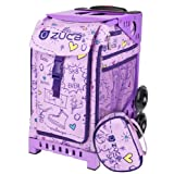 Details about Zuca SK8 Princess Limited Edition Lilac Aluminum Alloy - Ice Skate Bag by ZUCA