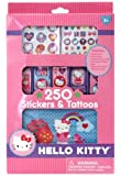 Hello Kitty 250 Stickers and Tattoos
