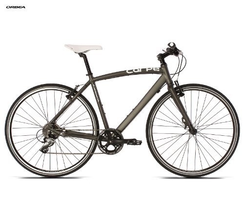 Orbea Carpe 50 2013 Ready to Ride Commuter Bike Matte Grey/White 60cm