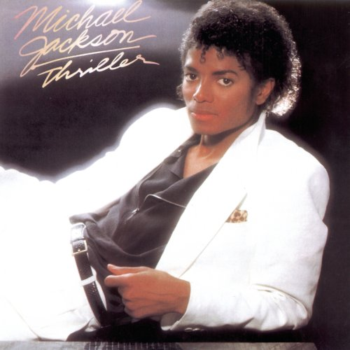 Original album cover of Thriller by Michael Jackson