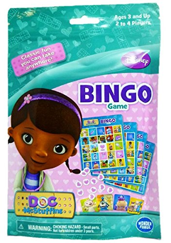 Disney Doc McStuffins On-the-Go Bingo Game - 1