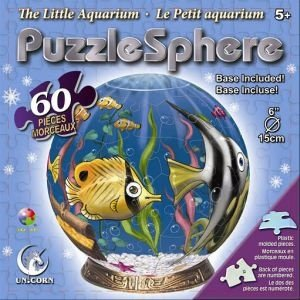 Cheap Fun Unicorn Enterprises A5023_6 The Little Aquarium 6 Inch Puzzle Sphere 60 pc puzzle (B00133UBTI)