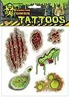 Biohazard Zombie Mutant Body Part Tattoos Accessory Size One-size