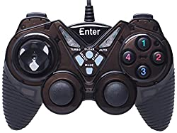 Enter E-GPV10 Game Pad Single Player (Black)