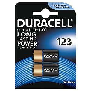 Duracell Piles Lithium High Power 123 x2