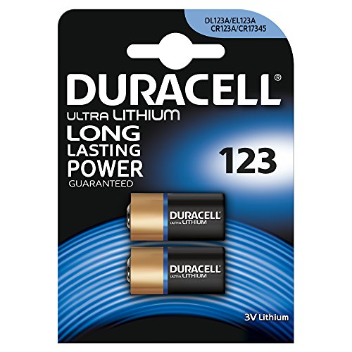 Duracell Ultra Lithium Battery 123 (CR17345) 2er