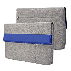 Gmyle Sleeve Cushion for Macbook 12 inch with Retina Display - Grey & Blue