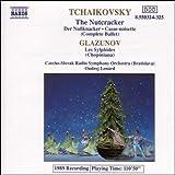 チャイコフスキー&グラズノフ:バレエ音楽(全曲盤)「くるみ割り人形」Op.71/グラズノフ:バレエ音楽「レ・シルフィード(風の精)」(ショピニアーナ)(2枚組)