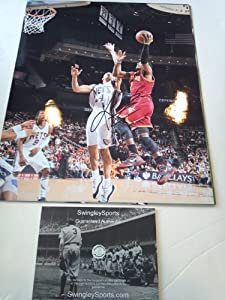 Kyrie Irving Signed Cleveland Cavaliers 11x14 Photo