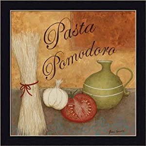 Pasta pomodor by jane carroll italian kitchen for Italian kitchen prints