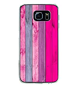 Wooden Colourful Pattern 2D Hard Polycarbonate Designer Back Case Cover for Samsung Galaxy S6 Edge :: Samsung Galaxy S6 Edge G925 :: Samsung Galaxy S6 Edge G925I G9250 G925A G925F G925FQ G925K G925L G925S G925T