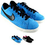Womens Nike Blazer Low Profile Lace Up Light Weight Sneaker Trainer - Black - 3