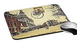 meSleep Stamp City Mouse Pad