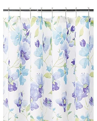 Portia Shower Curtain, Blue