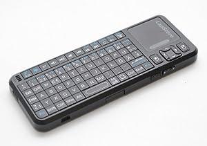 Mini Bluetooth Clavier Wireless / Sans fil - Touchpad et Laser Pointer - jusqu'à 30 m