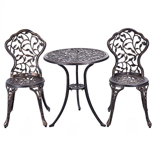 And Lattice Cast Aluminum Antique Copper Curved Garden Bench on Amazon Cast Iron Benches Outdoor Furniture