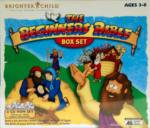 The Beginners Bible: The Story of Easter, Moses in the Land of Egypt, Noah's Ark Activity Center, the Birth of Jesus Activity Center - 1