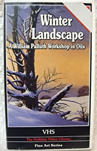 William Palluth, Painting Landscapes in Oils, Winter Landscape