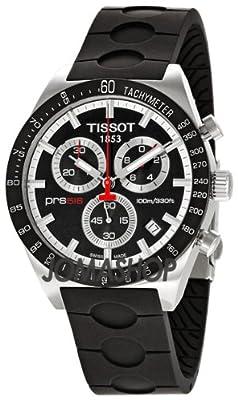 Tissot Men's TIST0444172705100 PRS 516 Black Dial Watch