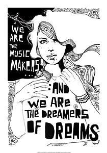 Music Makers Love by Manuel Rebollo 20x14 Fine Art Print Poster