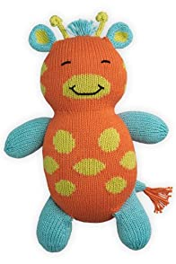 Joobles Organic Stuffed Animal - Jiffy the Giraffe