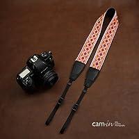 カムイン おしゃれ な 刺繍 レース カメラ ストラップ かわいい 女子 一眼レフ ミラーレス F8162-CX7513