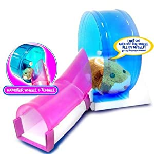 Zhu Zhu Pets Add On Hamster Wheel