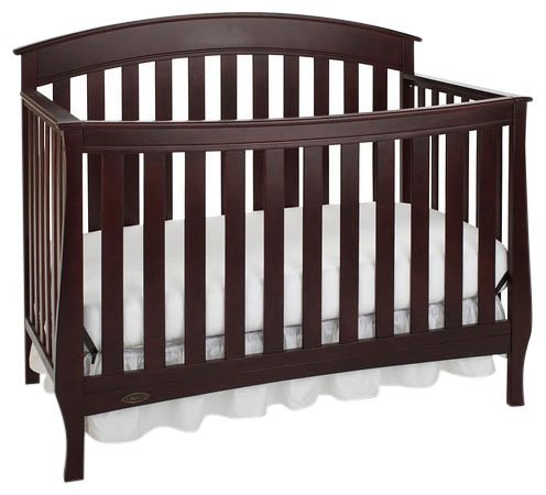 Graco Suri Convertible Crib, Espresso (Discontinued by Manufacturer) - 1